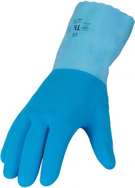 Latex- Chemikalienschutz- EN374 3454