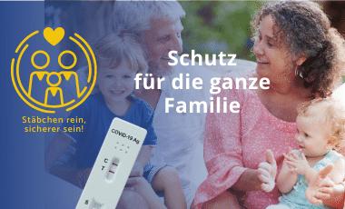 Laien- Schnelltests für Familie & Job