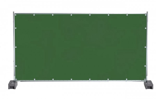 150 g/m² PE-Bauzaunplane 1,76m x 3,41m i