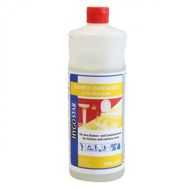 Saurer Entkalker von Hygostar, 1 Liter F