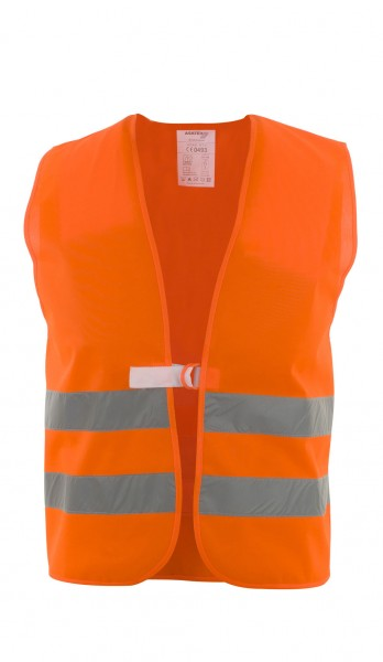 Polyester- Warnweste orange, WTP