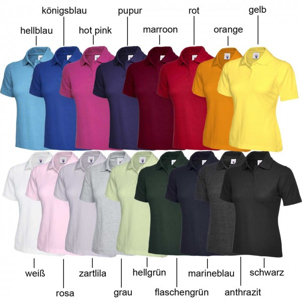 Uneek Damen TOP Poloshirts UC106