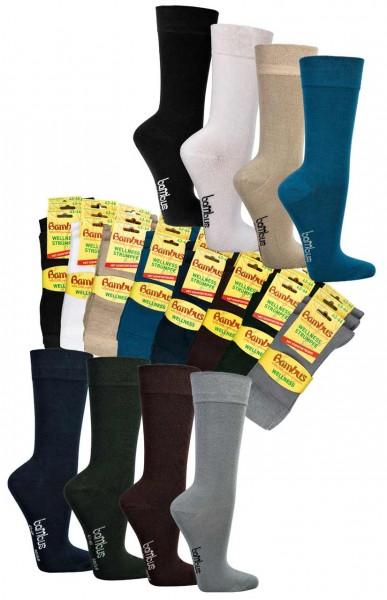 Wellness-Socken BAMBUS, normallang