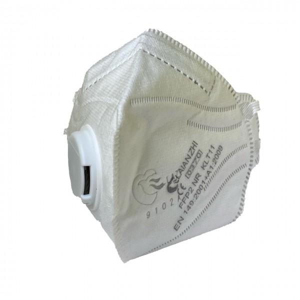 FFP2 NR Falt- Feinstaubmaske, mit Ventil