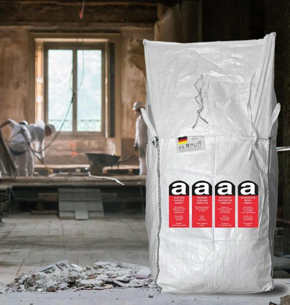 Asbest Big Bags 90x90x110 cm, 5416