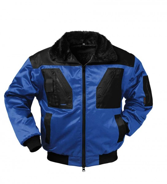 4 in 1 NORWAY- Pilotenjacke MOLDE, royal
