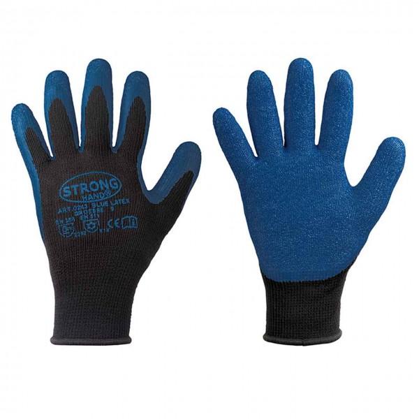 Kälte- Arbeitshandschuh BLUE LATEX