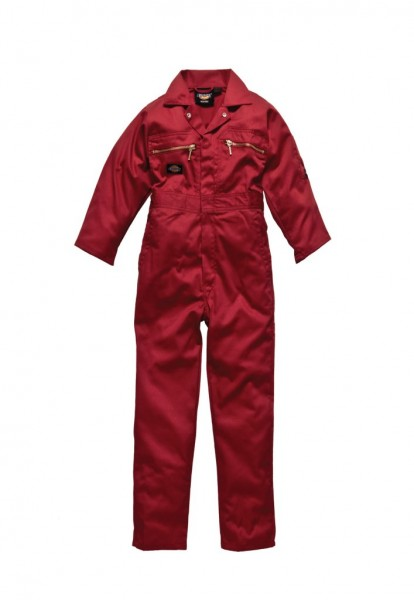 Dickies Redhawk Junior- Overall in rot