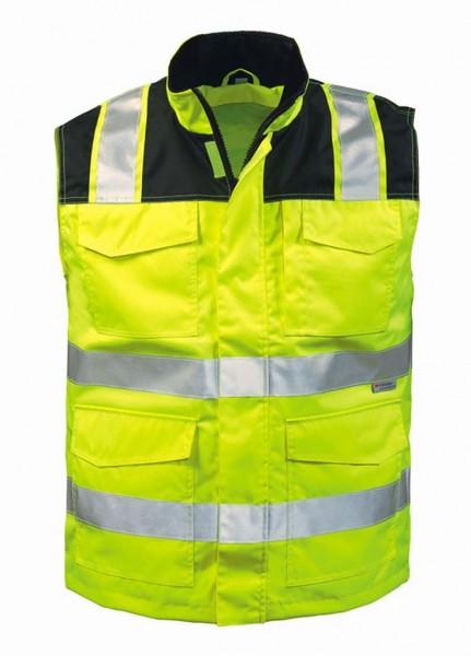 Warnschutzweste GREGOR gelb-schwarz