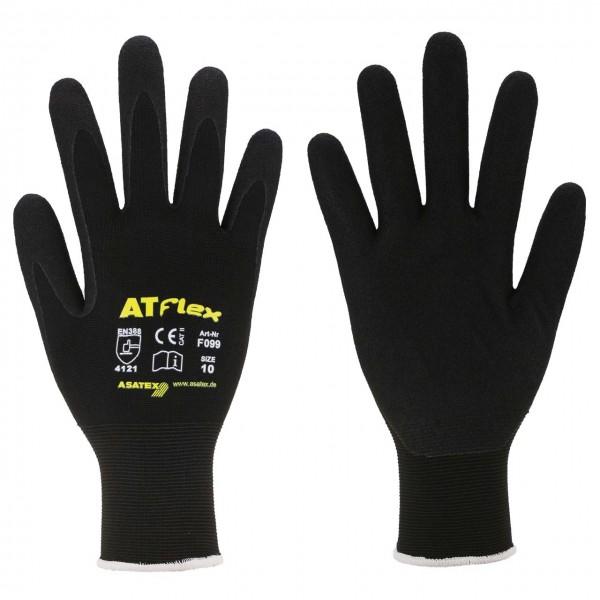 Beschichteter Feinstrick-Nitril-Handschu