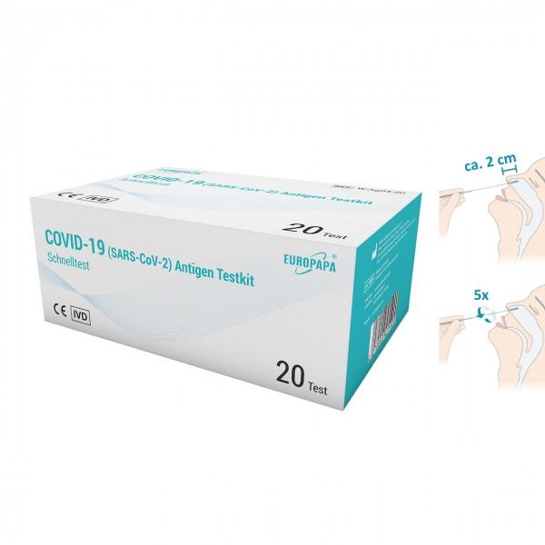 Europapa COVID-19 Antigen Schnelltest