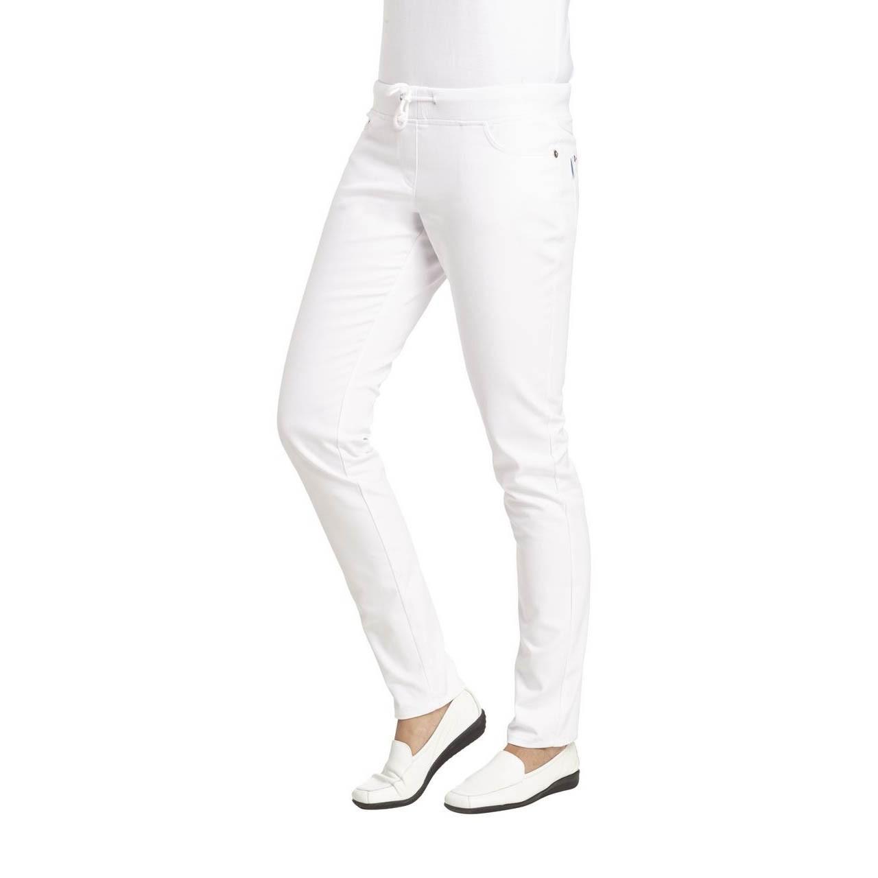 ce28ff02a29ecc Slim-Style Damenhose in Jeansform mit Bündchen von Leiber | BBF24 - Shop