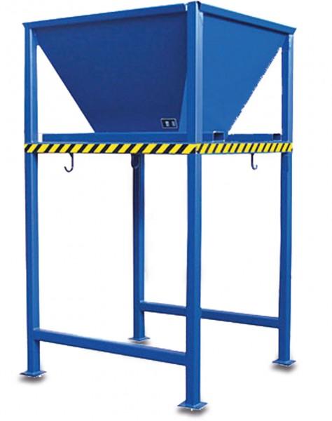 Befülltrichter für Big Bags blau 052