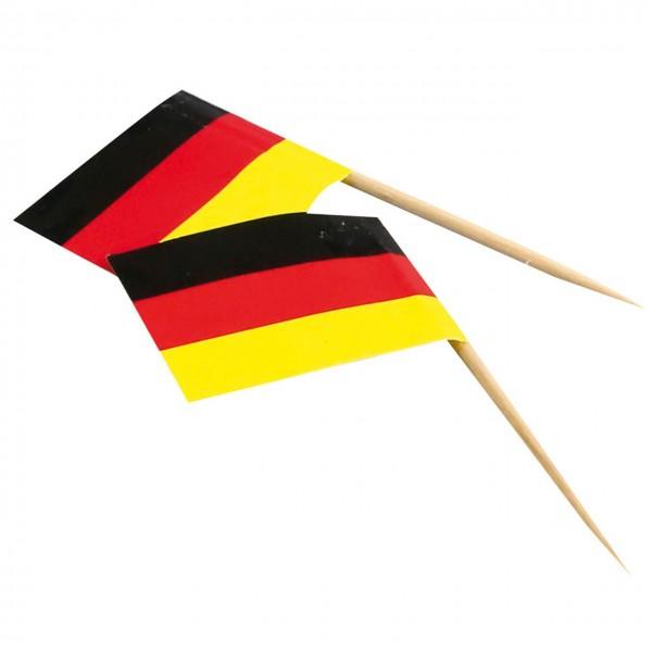 Holz-Flaggenpicker Germany  NATURE Star