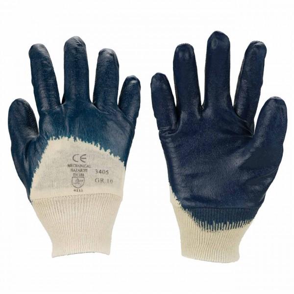 Nitril-Handschuh 3405 aus 100% Baumwolle