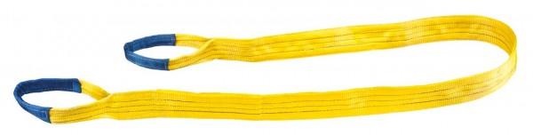 Hebeband 90 mm x 6 m gelb