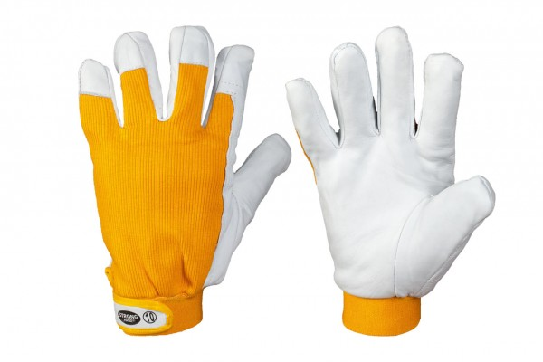 Thermo Nappaleder-Handschuhe KHANPUR