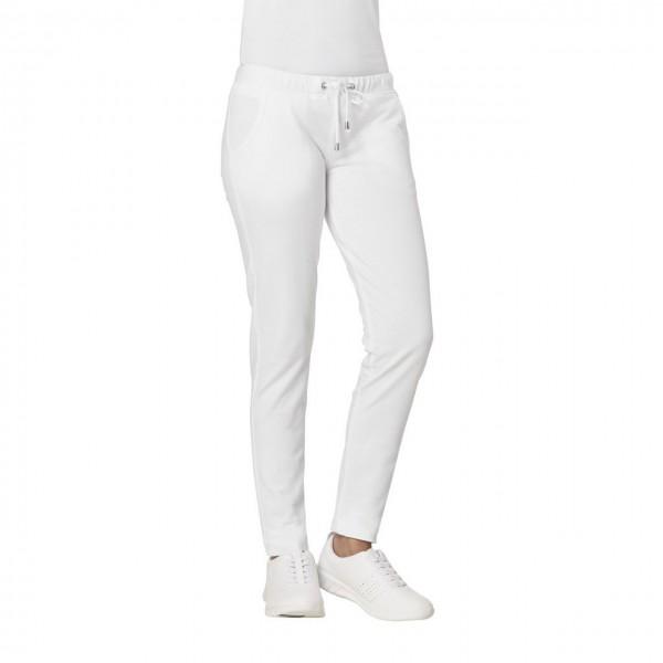 23c2b7df459dcf Leiber Damen-Sweathose 08/7560, Slim-Style, Strech, weiß | Medizin ...