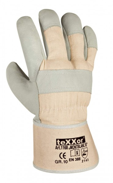 Rindvollleder-Handschuhe MONTBLANC-III