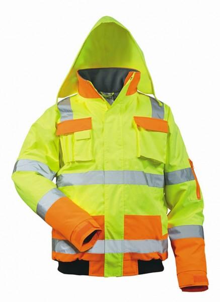 Warnschutz-Pilotenjacke MATS gelb-orange