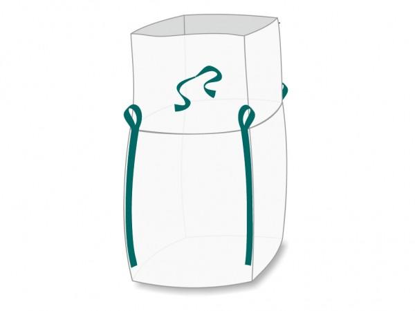 Big Bags 75x75x90 cm mit Schürze, 7070