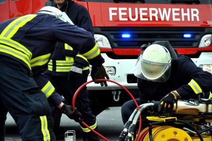 Polizei, Feuerwehr und Rettungsdienste