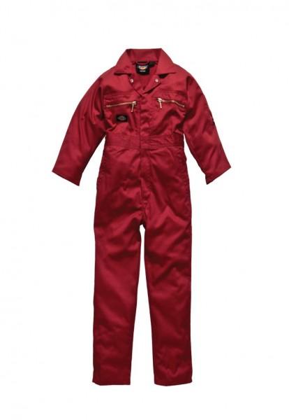 Dickies Redhawk Junior- Overall in rot