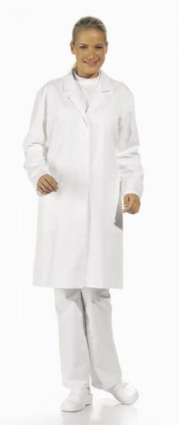 Leiber Damen-Mantel 08/727, HACCP, weiß