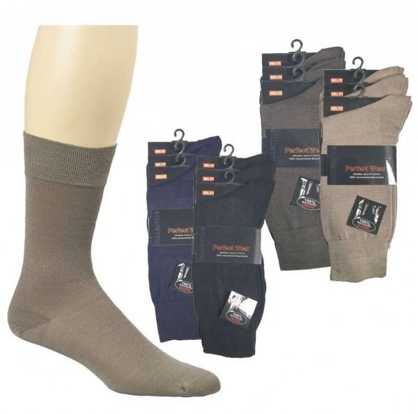 Business Socken aus 100% Baumwolle