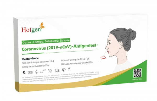 Corona Antigen Selbsttest für Laien
