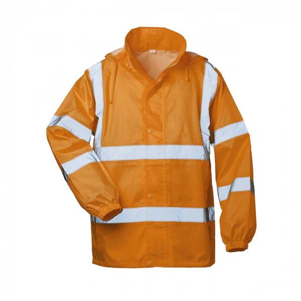Warnschutz Regen Jacke mit Kapuze HAUKE