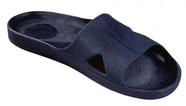 PVC Bade- Pantinen in blau 35006