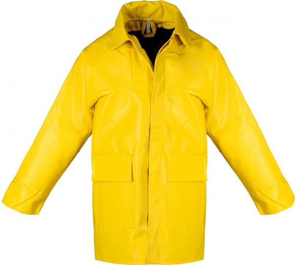 PU- gefütterte Winterbaujacke PJ, gelb