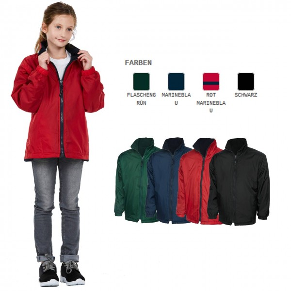 Kinder Micro Fleece-Jacke in 6 Farben