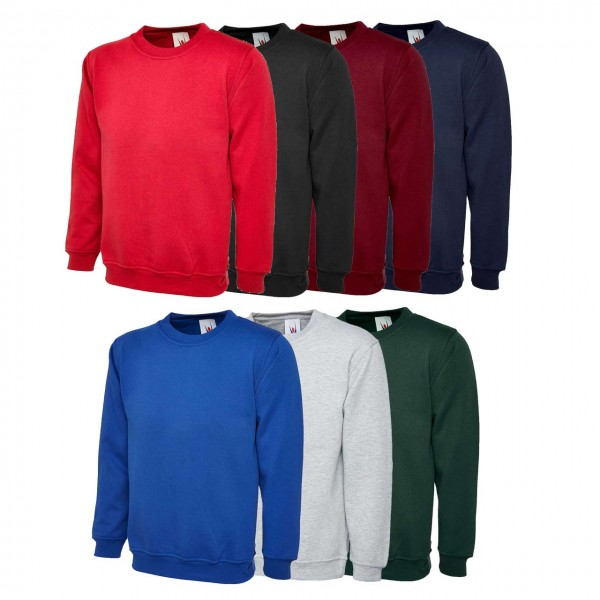 Uneek UC205 Olympic Sweatshirt 260 gsm,