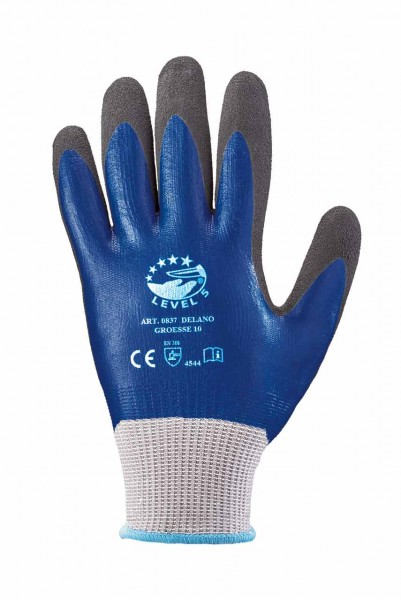 Montage- Handschuh DELANO, dunkel-blau