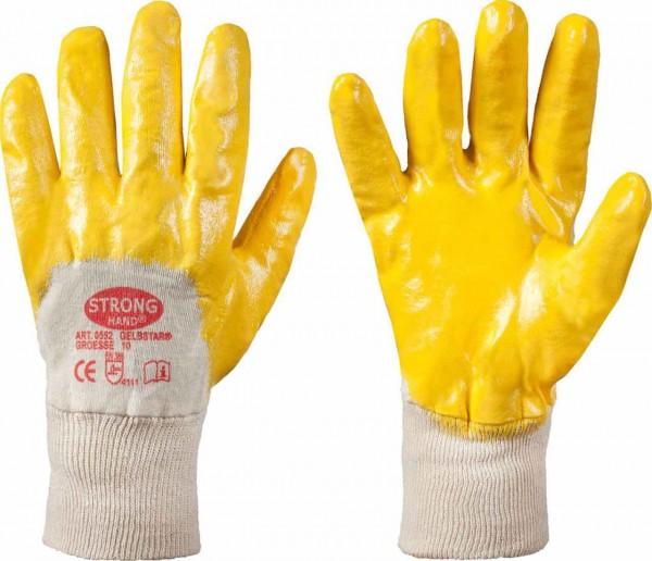 Baumwoll- Handschuhe GELBSTAR von strong