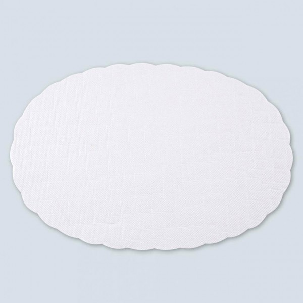 Plattenpapier von Hygostar, oval