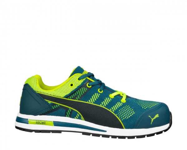 Puma S1P Arbeitsschuh Elevate Knit Green