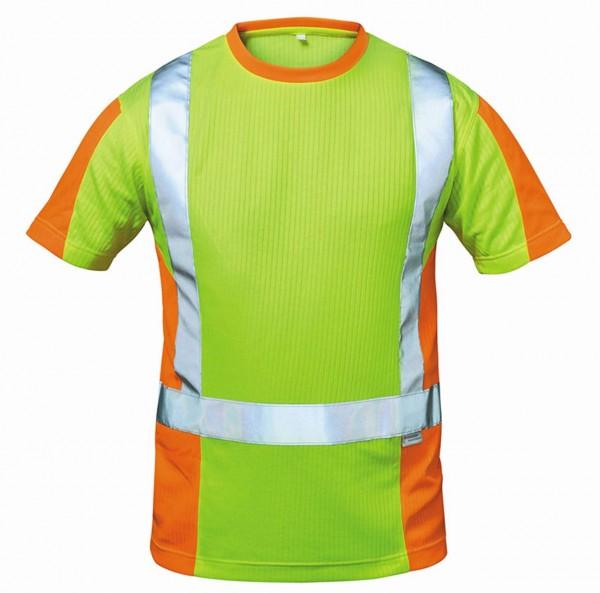 Warnschutz- T-Shirt von elysee, gelb/ora