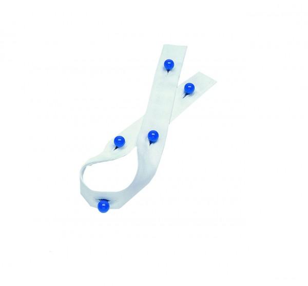 6- Loch Knopfleiste für Kugelknöpfe aus