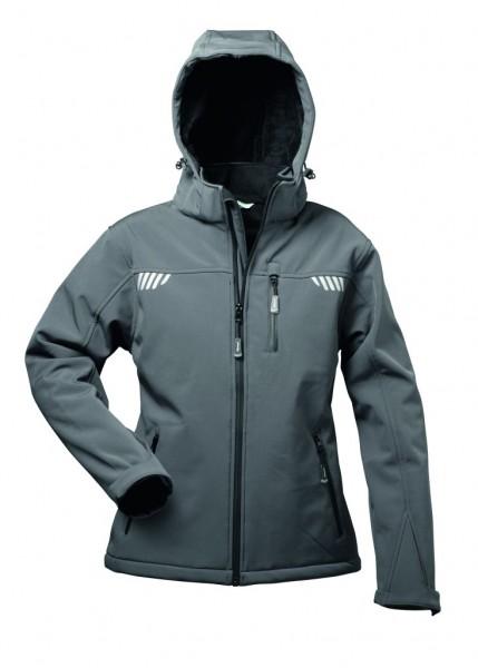 Damen Winter Softshell Jacke mit Fell