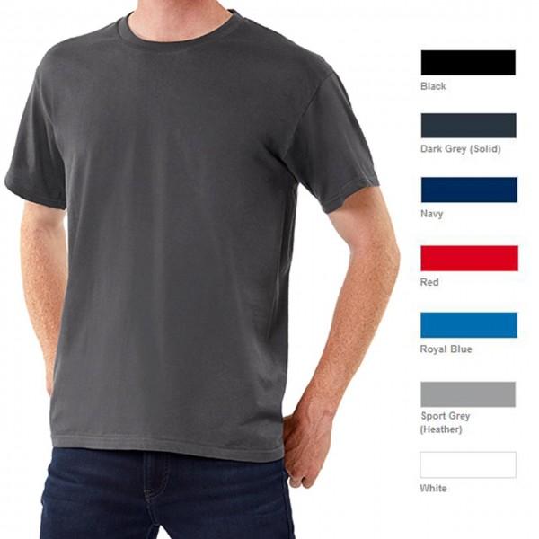 T-Shirts aus 100% Baumwolle 185g m², in