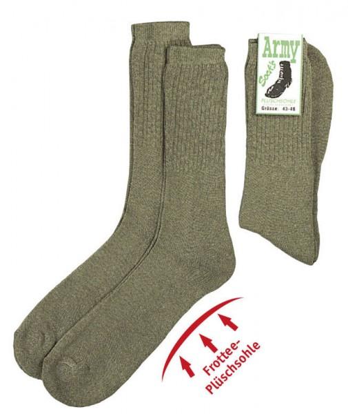 Army Socken grün