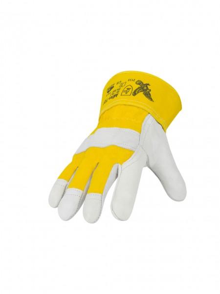 Handschuh Rindnarbenleder Adler-Top