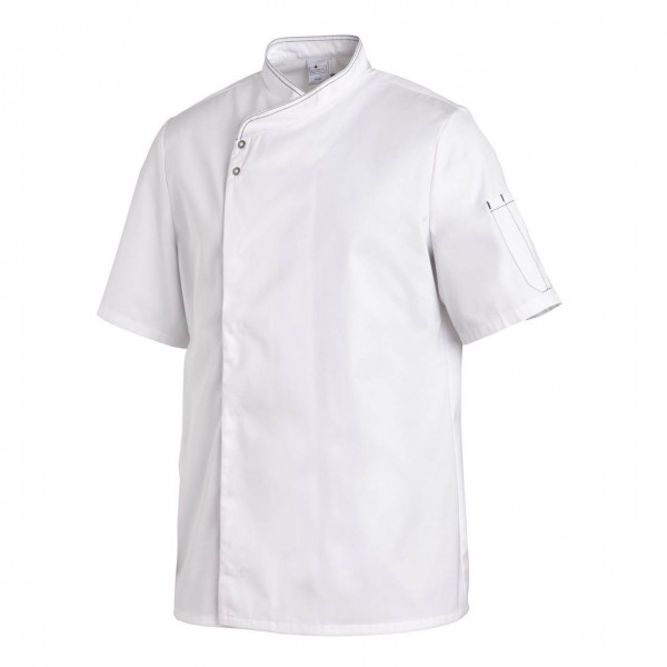 Leiber Kochjacke 12/2595, 1/2 Arm, weiß