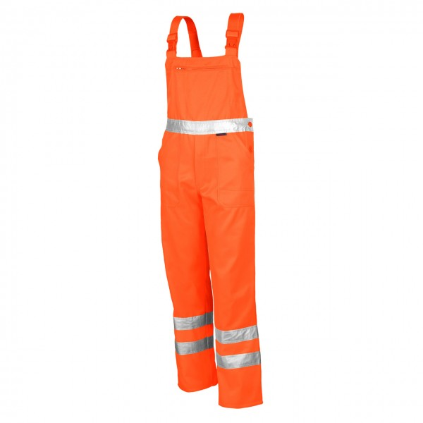 Qualitex Warnschutz- Latzhose 61937W