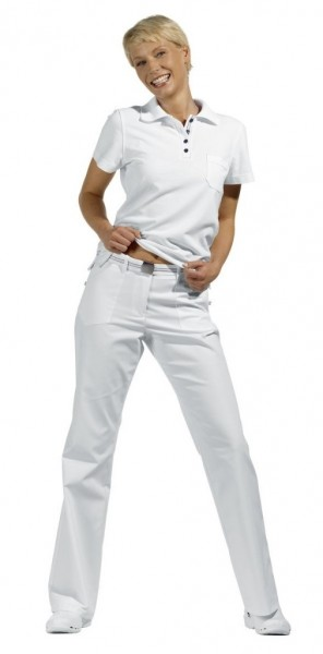 Leiber Damenhose 08/6122 75 cm weiß
