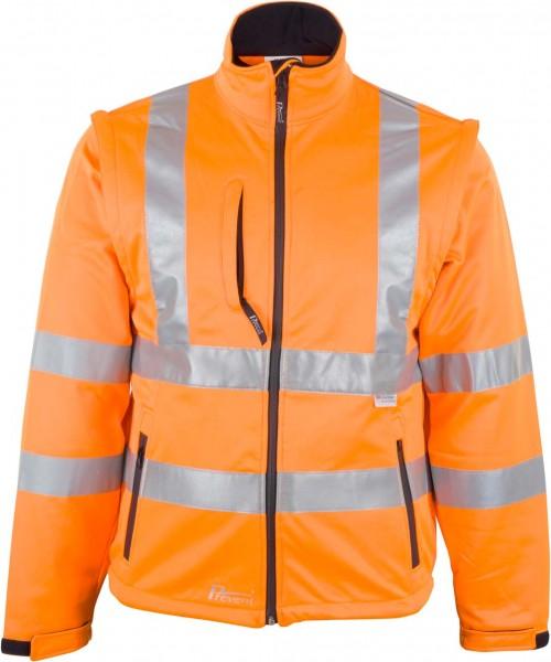 Warnschutz-Softshell-Jacke 8060O von Pre