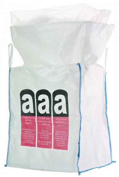Asbest Big Bag mit Schürze & Inliner